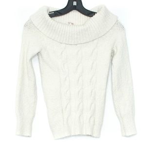 Free People Sweater Off Shoulder Roll Over G1